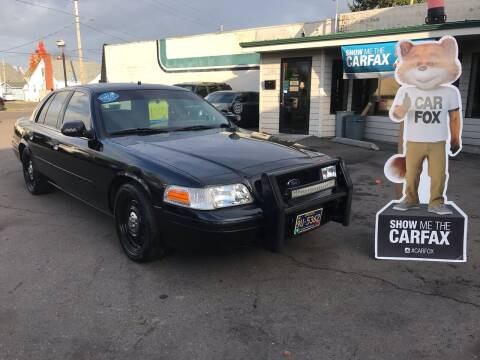 2007 Ford Crown Victoria for sale at Salem Auto Market in Salem OR