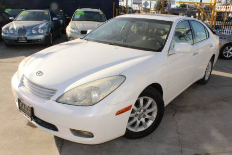 2003 Lexus ES 300 for sale at Good Vibes Auto Sales in North Hollywood CA