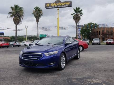 2013 Ford Taurus for sale at A MOTORS SALES AND FINANCE in San Antonio TX