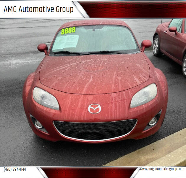 2010 Mazda MX-5 Miata for sale at AMG Automotive Group in Cumming GA