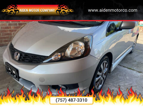 2013 Honda Fit for sale at Aiden Motor Company in Portsmouth VA