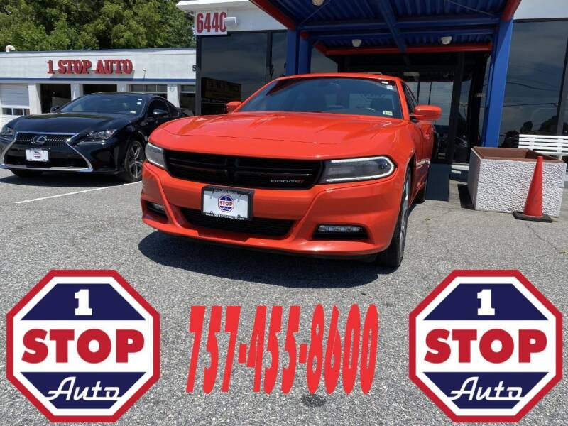 2016 Dodge Charger for sale at 1 Stop Auto in Norfolk VA