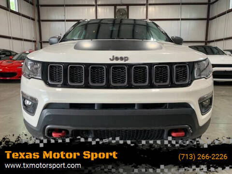 2021 Jeep Compass for sale at Texas Motor Sport in Houston TX