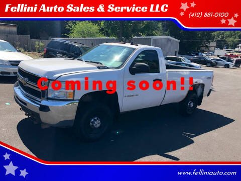 2009 Chevrolet Silverado 2500HD for sale at Fellini Auto Sales & Service LLC in Pittsburgh PA