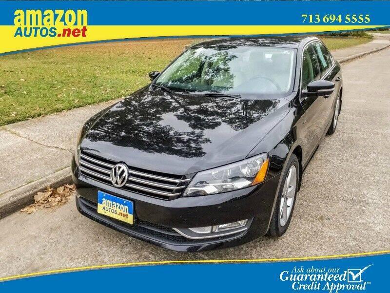2015 Volkswagen Passat for sale at Amazon Autos in Houston TX