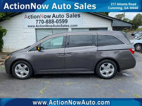 2012 Honda Odyssey for sale at ACTION NOW AUTO SALES in Cumming GA