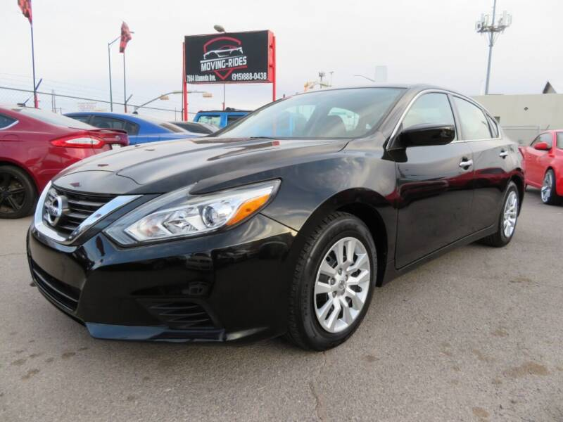 2017 Nissan Altima for sale at Moving Rides in El Paso TX