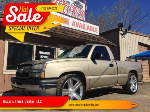 2004 Chevrolet Silverado 1500 for sale at Oscar's Truck Center, LLC in Houston TX