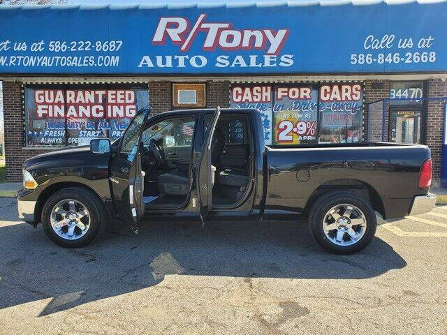 2012 RAM Ram Pickup 1500 for sale at R Tony Auto Sales in Clinton Township MI