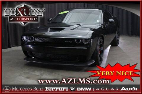 2018 Dodge Challenger for sale at Luxury Motorsports in Phoenix AZ