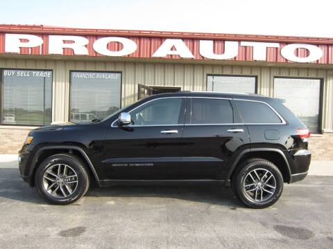 2017 Jeep Grand Cherokee for sale at Pro Auto Sales in Carroll IA