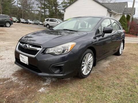 2013 Subaru Impreza for sale at Williston Economy Motors in Williston VT