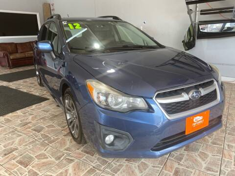 2012 Subaru Impreza for sale at TOP SHELF AUTOMOTIVE in Newark NJ