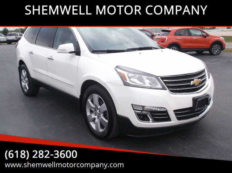 2015 Chevrolet Traverse for sale at SHEMWELL MOTOR COMPANY in Red Bud IL