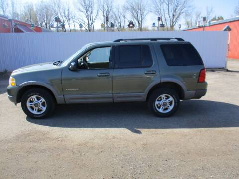 2002 Ford Explorer for sale at Chaddock Auto Sales in Rochester MN