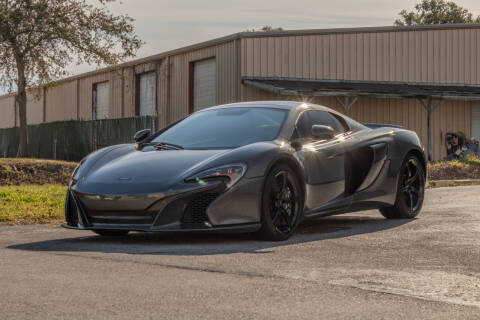 2015 McLaren 650S Spider for sale at Exquisite Auto in Sarasota FL