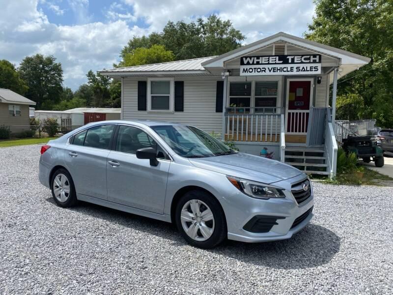 2018 Subaru Legacy for sale at Wheel Tech Motor Vehicle Sales in Maylene AL