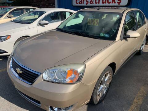 2006 Chevrolet Malibu for sale at BURNWORTH AUTO INC in Windber PA