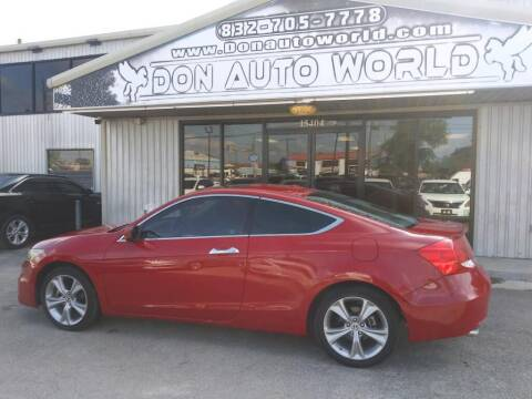 2011 Honda Accord for sale at Don Auto World in Houston TX