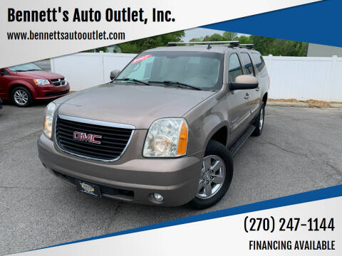 2007 GMC Yukon XL for sale at Bennett's Auto Outlet, Inc. in Mayfield KY