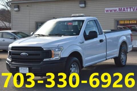 2018 Ford F-150 for sale at MANASSAS AUTO TRUCK in Manassas VA