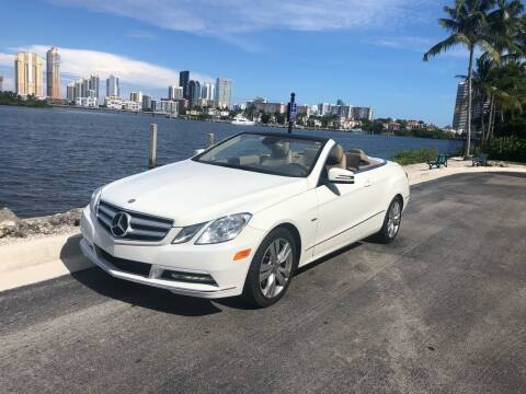 2012 Mercedes-Benz E-Class for sale at CARSTRADA in Hollywood FL