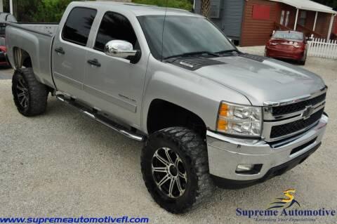 2013 Chevrolet Silverado 2500HD for sale at Supreme Automotive in Land O Lakes FL
