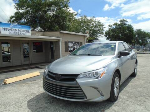 2015 Toyota Camry for sale at New Gen Motors in Bartow FL