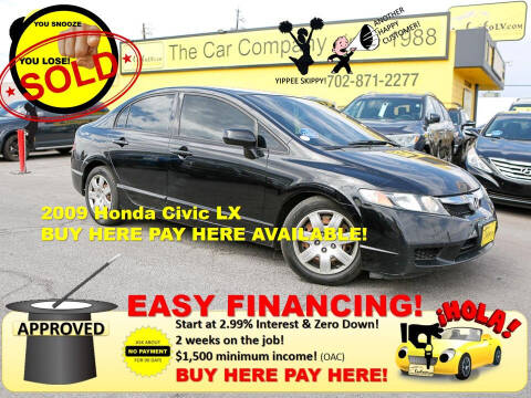 2009 Honda Civic for sale at The Car Company in Las Vegas NV
