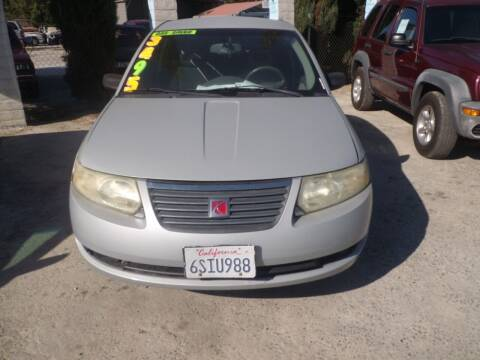2006 Saturn Ion for sale at AJ'S Auto Sale Inc in San Bernardino CA