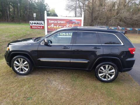 2013 Jeep Grand Cherokee for sale at Super Sport Auto Sales in Hope Mills NC