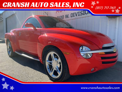 2006 Chevrolet SSR for sale at CRANSH AUTO SALES, INC in Arlington TX