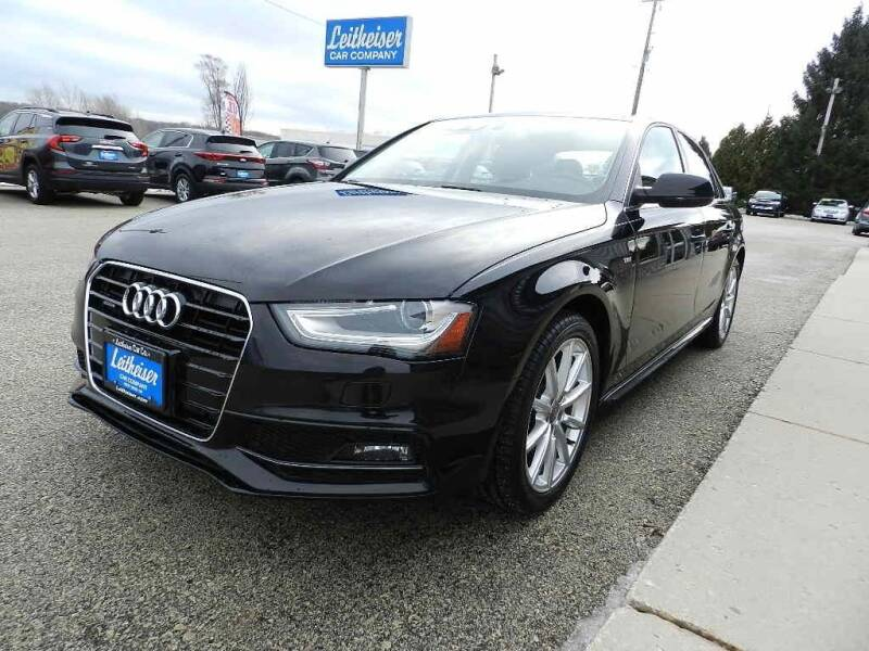 2014 Audi A4 for sale at Leitheiser Car Company in West Bend WI