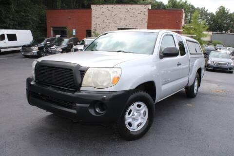 2008 Toyota Tacoma for sale at Atlanta Unique Auto Sales in Norcross GA