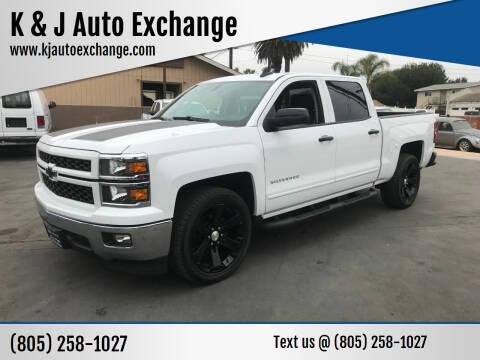 2015 Chevrolet Silverado 1500 for sale at K & J Auto Exchange in Santa Paula CA