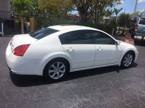 2008 Nissan Maxima for sale at CAR-RIGHT AUTO SALES INC in Naples FL