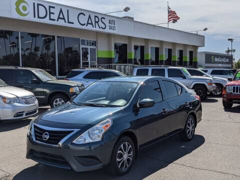 2016 Nissan Versa for sale at Ideal Cars in Mesa AZ