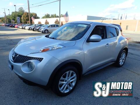 2013 Nissan JUKE for sale at S & J Motor Co Inc. in Merrimack NH