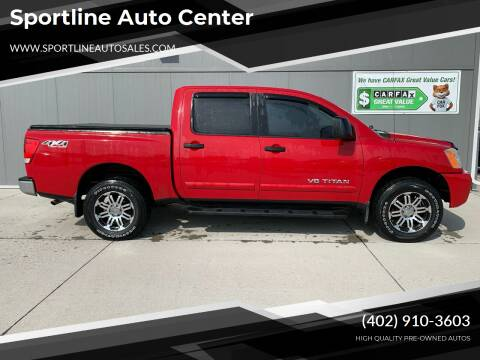 2009 Nissan Titan for sale at Sportline Auto Center in Columbus NE