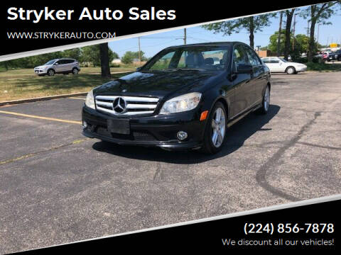 2010 Mercedes-Benz C-Class for sale at Stryker Auto Sales in South Elgin IL