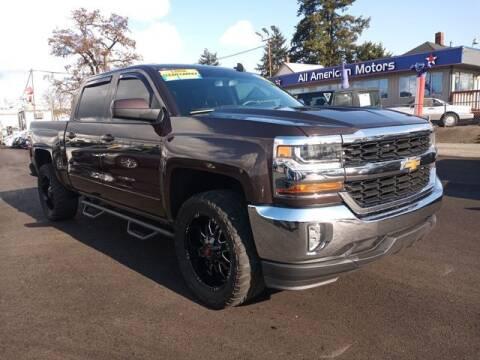 2016 Chevrolet Silverado 1500 for sale at All American Motors in Tacoma WA