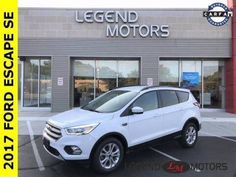 2017 Ford Escape for sale at Legend Motors of Detroit - Legend Motors of Waterford in Waterford MI