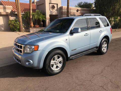 2008 Ford Escape Hybrid for sale at Arizona Hybrid Cars in Scottsdale AZ