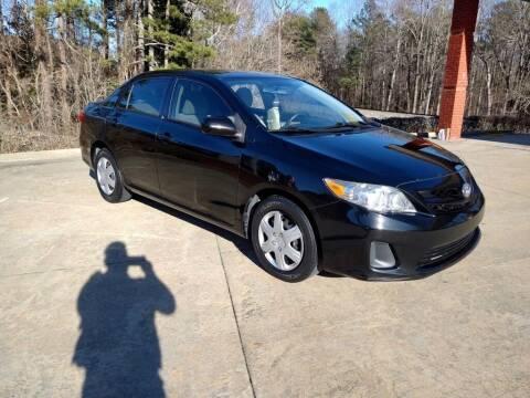 2011 Toyota Corolla for sale at A&Q Auto Sales in Gainesville GA