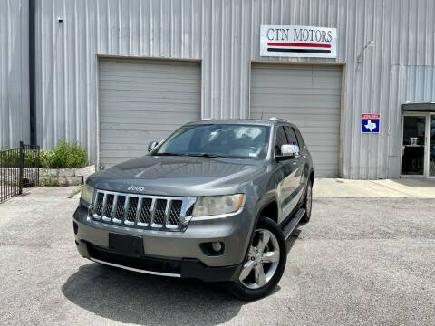 2012 Jeep Grand Cherokee for sale at CTN MOTORS in Houston TX