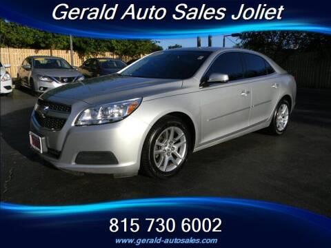 2013 Chevrolet Malibu for sale at Gerald Auto Sales in Joliet IL