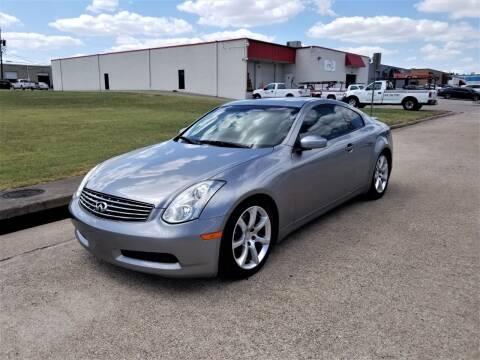 2006 Infiniti G35 for sale at Image Auto Sales in Dallas TX