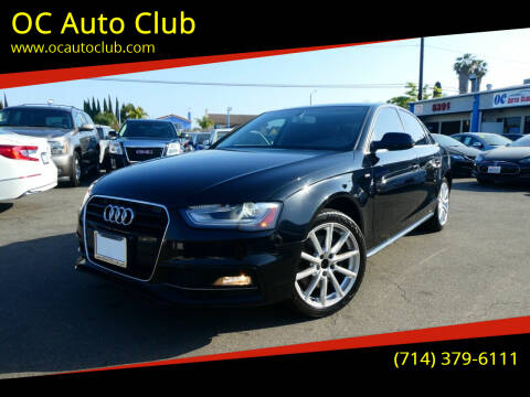 2016 Audi A4 for sale at OC Auto Club in Midway City CA
