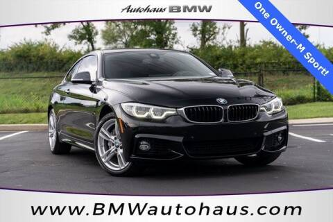 2019 BMW 4 Series for sale at Autohaus Group of St. Louis MO - 3015 South Hanley Road Lot in Saint Louis MO