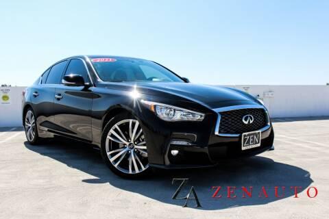 2021 Infiniti Q50 for sale at Zen Auto Sales in Sacramento CA